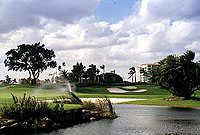 Fabulous golf and water views at Boca Resort