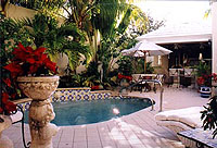 Bermuda Village Courtyard Pool View