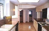 Mizner Tower Gourmet Kitchen & Breakfast Area