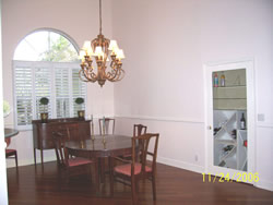 Tanglewood Rental Dining Room