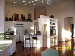 Tanglewood Rental Kitchen from Family Room