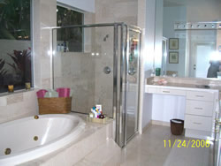 Tanglewood Rental Master Bathroom