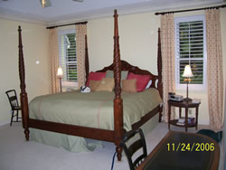 Tanglewood Rental Master Bedroom