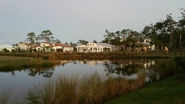 Riverbend Palm City Lake view and preserve lots