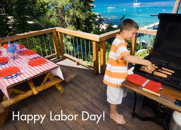 Labor Day Barbecue at the beach