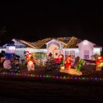Port St Lucie Decorated Christmas House for Tour