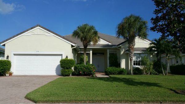 St Lucie West Magnolia Lakes Homes, single family gated community