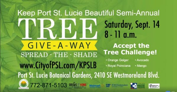 PSL Spread a Tree Giveaway September 14, 2019