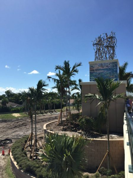Crosstown Monument with Guy Harvey Artwork