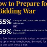 How to prepare for bidding war - 3 Top TIps