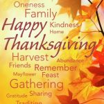 Happy Thanksgiving Collage of Special Meaning - Family, Kindness, Gathering, sharing, tradition, remember, harvest