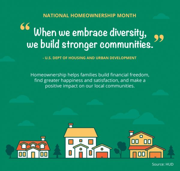 June is National Home Ownership Month